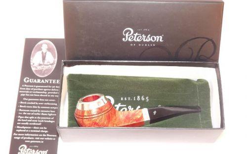 pfeifenshop: Peterson Pfeife Silver Cap XL21 F-lip