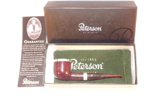 pfeifenshop: Peterson Pfeife Silver Cap 606 Dark
