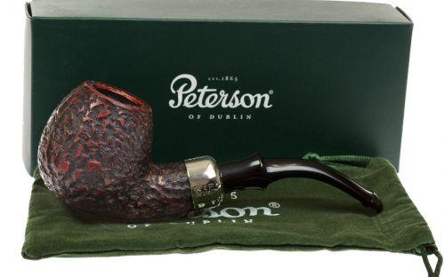 Peterson Pfeife Darwin B42 Rustic P-lip