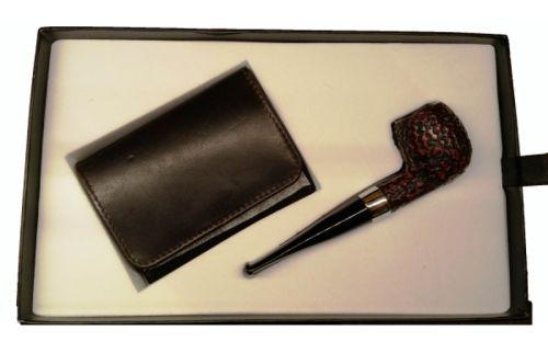 Peterson Pfeife Donegal 87 + Geschenke Tabakbeutel