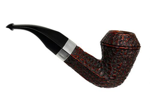 pfeifenshop: Peterson Pfeife Sherlock Holmes Hansom Rustic P-lip (9mm)