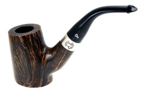 pfeifenshop: Peterson Pfeife Sherlock Holmes Hopkins Black & White P-lip