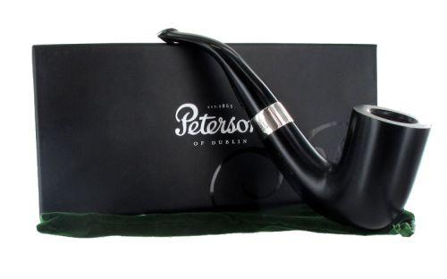 pfeifenshop: Peterson Pfeife Sherlock Holmes Rathbone Ebony P-lip