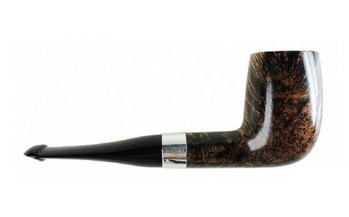 pfeifenshop: Peterson Pfeife Sherlock Holmes Sylvius Black & White P-lip