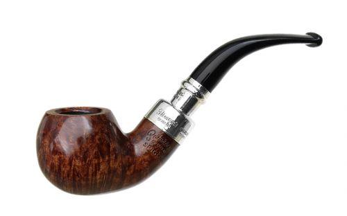 pfeifenshop: Peterson Pfeife Spigot Silver XL02 Walnut F-lip (9mm)