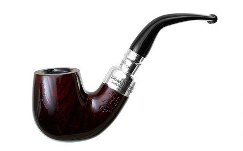 pfeifenshop: Peterson Pfeife Spigot Silver X220 Red F-lip