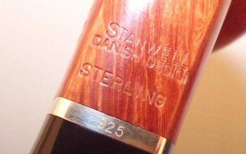 pfeifenshop: Stanwell Pfeife Sterling 232 Brown Polish