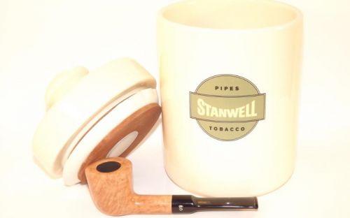 pfeifenshop: Stanwell Pfeife Flawless + Tobacco Jar