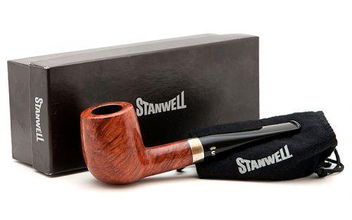 pfeifenshop: Stanwell Pfeife Sterling 88 Brown Polish