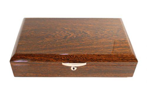 Humidor - Mahagoni-Design, spanischer Zeder, für 60 Zigarren