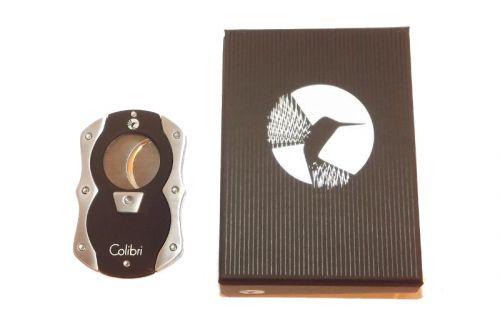 pfeifenshop: Zigarrenabschneider - Colibri, schwarz/chrom