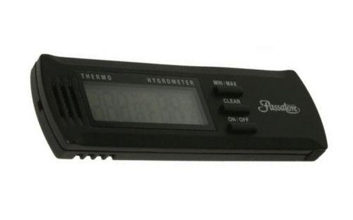 Thermometer mit Hygrometer Passatore Digital aus Kunststoff in schwarz 10244 Tabak, Feuerzeuge & Pfeifen