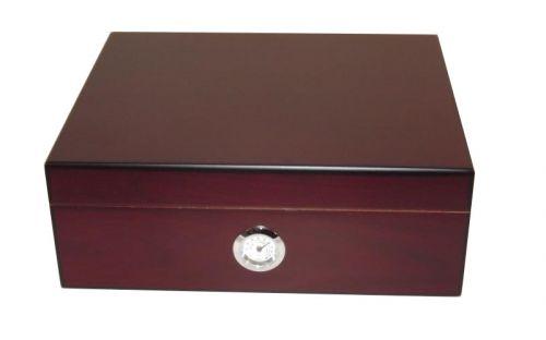 Humidor - Mahagonifarbe, spanischer Zeder, für 40 Zigarren