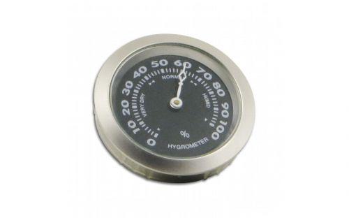 Hygrometer - 37/35 mm, silberfarbe