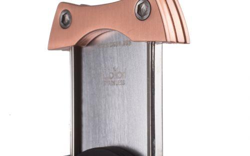 pfeifenshop: Zigarrenabschneider Colibri S-Cut Schwarz/Gold