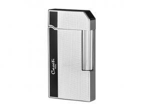 Zigarrenfeuerzeug Caseti Rom - silber