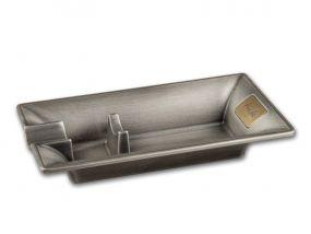 pfeifenshop: Zigarrenascher - Metall (16x8,5cm)