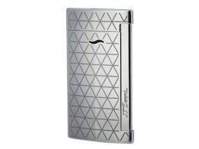 pfeifenshop: Luxus Szivaröngyújtó - ezüst, S.T. Dupont Slim 7 Firehead