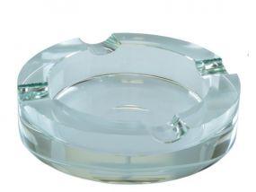Zigarrenaschenbecher - Kristallglas, rund, 18cm