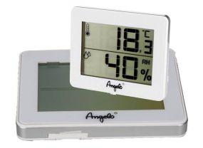 pfeifenshop: Digital Thermo- Hygrometer weiss