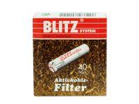 BLITZ system Pfeifenfilter 40 Stücke