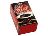 Ermuri Silikat Pfeifenfilter 50 Stück